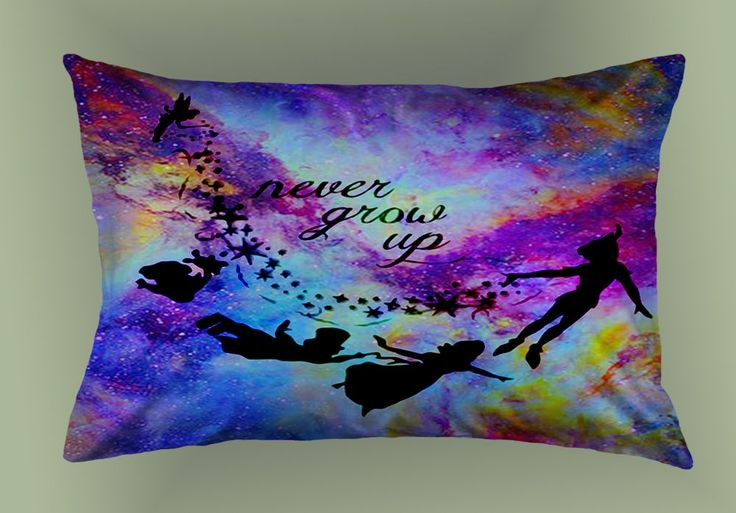 """Best Cheap Pillow Case Peter Pan Nebula High Quality 20"""" x 30"""" Zippered Cover #Unbranded #trending #disney #peterpan #nebula #pillowcase #cushioncase #pillowcover #cushioncover #bestquality #rare #new #cartoon"""