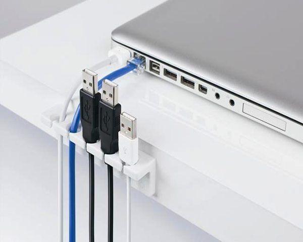 Cable Strip Desk Cable Organizer                                                                             $9  The Gadget Flow
