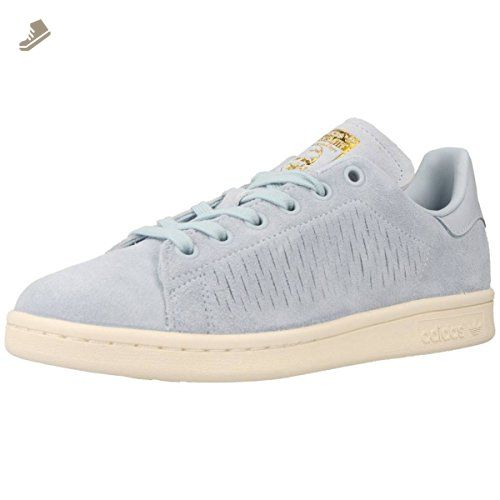 Adidas Womens Stan Smith Blue Suede Trainers 8 US - Adidas sneakers for  women (*