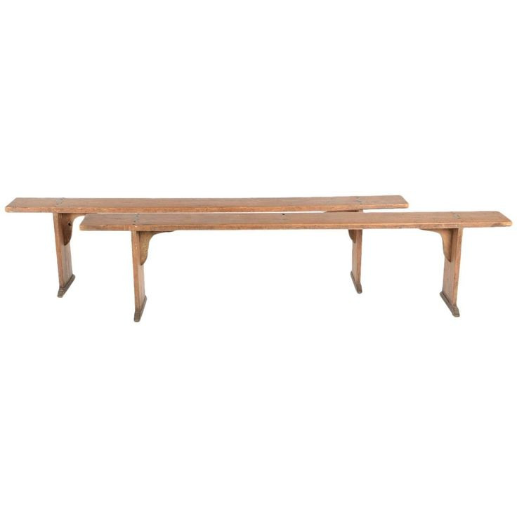 French Antique Benches, circa 1900   From a unique collection of antique and modern benches at https://www.1stdibs.com/furniture/seating/benches/