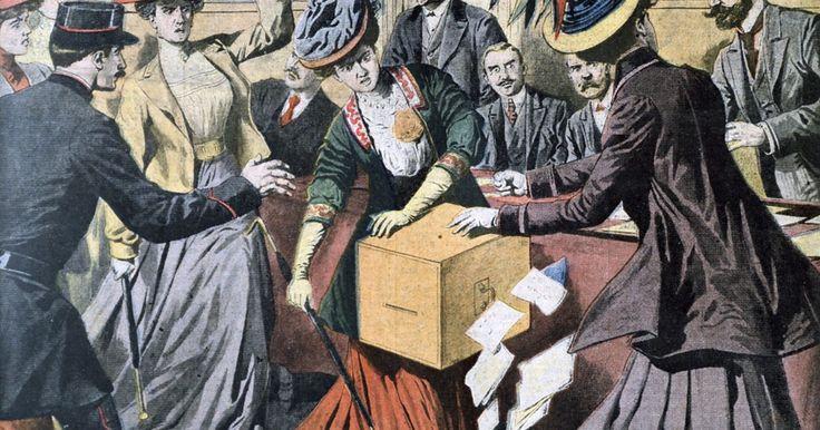 Argumentos en contra y a favor del derecho al voto femenino y la 19ª enmienda   . El derecho al voto en Estados Unidos fue otorgado en un principio exclusivamente a los terratenientes blancos de sexo masculino, pero a finales de la década de 1830 se extendió a todos los ciudadanos varones de raza blanca. Pero las enérgicas y socialmente activas mujeres estadounidenses consideraron que esto era insuficiente. En 1848, Elizabeth ...