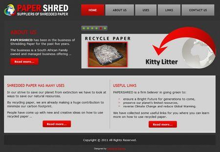 Wordpress Website Design Informational Site