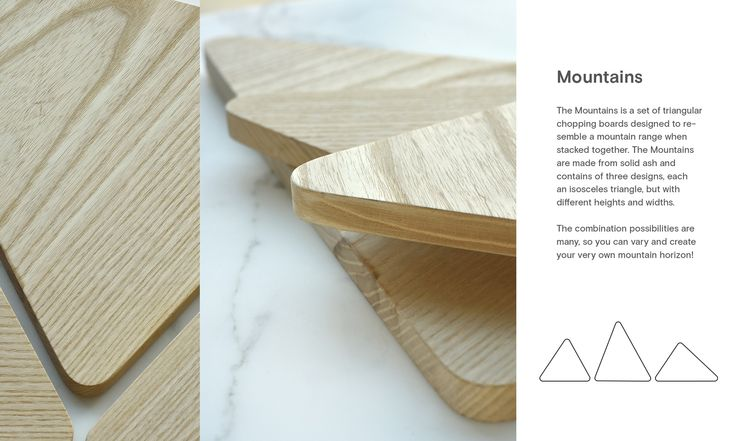 Mountains. Design: Runa Klock.