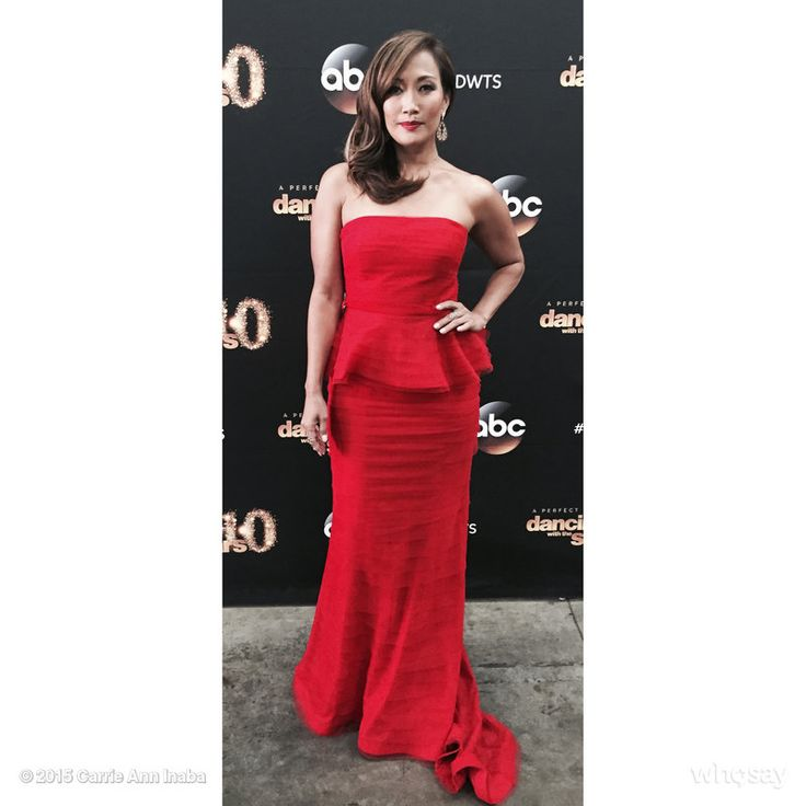 Carrie Ann Inaba in Adrianna Pappell on #DWTS20 #DisneyNight #DWTS #fashion