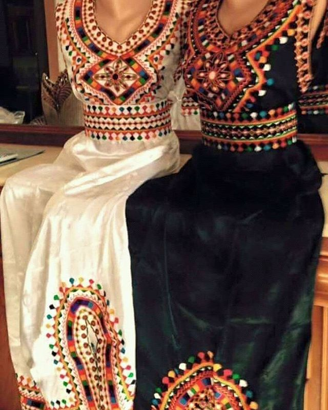 اللباس التقليدي الجزائري لمنطقة القبائل