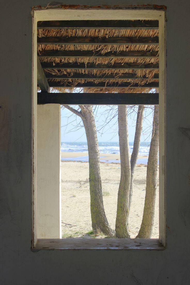 window -- photo by Evi Tselempi