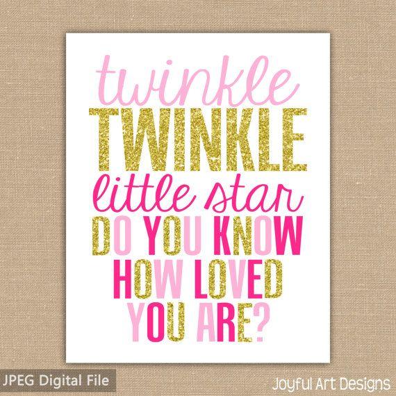 Twinkle Twinkle Little Star Do You Know How by JoyfulArtDesigns
