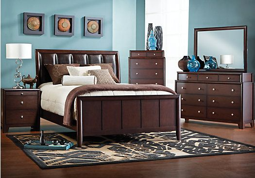 Shop For A Elmcrest 6 Pc Queen Bedroom At Rooms To Go Find Bedroom Sets That Will Look Great In
