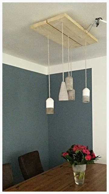 DIY Concrete lamp - Betonnen lamp - Craftology Corner