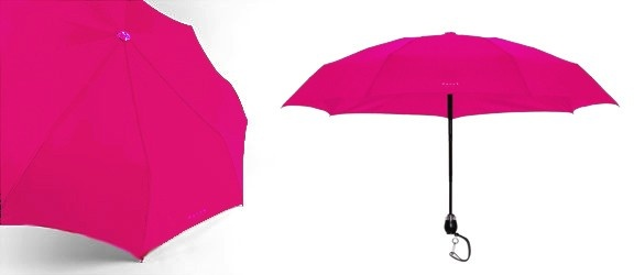 DAVEK-Traveler Umbrella Fuchsia Pink