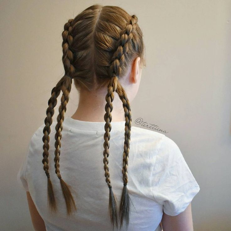 Two 3d braids into four of them!