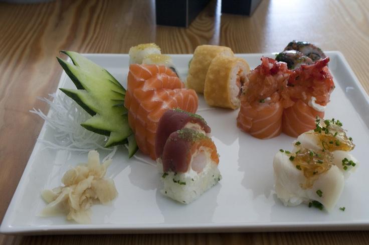 Menu de almoço Gull by sushiman Cristian Olivera e sushiman Junior