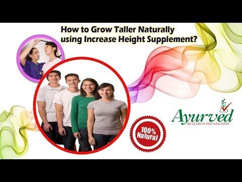 How to Grow Taller Naturally using Increase Height Supplement?