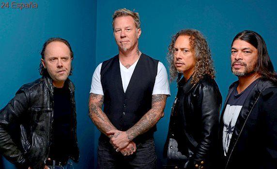 Metallica presentará nuevo disco en Madrid y Barcelona en 2018