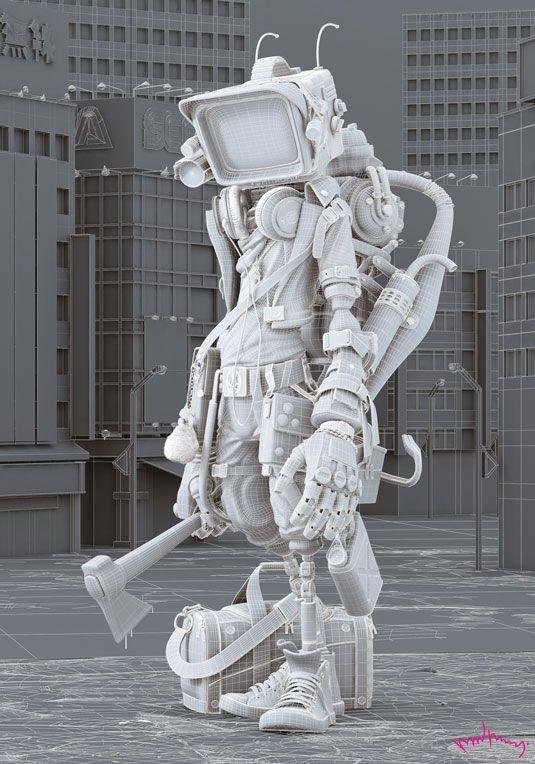 Japanese killer robot is crazily good | 3D | Creative Bloq