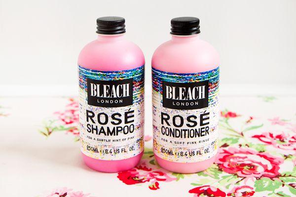 sparklyvodka: Bleach London Rose Shampoo & Conditioner