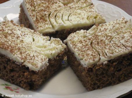 Fridakakan en långpannekaka för allergiker mjölkfri äggfri och nötfri - Recept