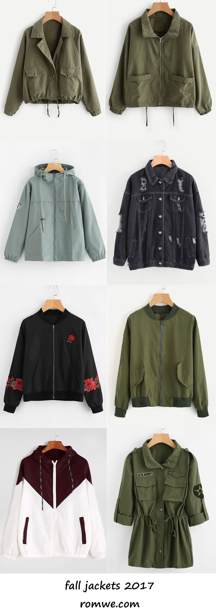 buy one get one - fall jackets 2017 from romwe.com
