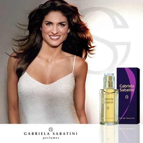 Perfumes Importados Gabriela Sabatini Feminino.  perfumes GABRIELA SABATINI Floral ambarino, para a mulher autêntica, atraente e natural. Suas notas combinam tangerina, jasmim, sândalo, almíscar e âmbar.   http://www.segperfumesimportados.com/loja/gabriela-sabatini%20/gabriela-sabatini-feminino-30-ml
