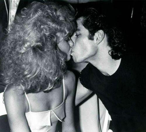 Olivia Newton-John and John Travolta at Studio 54, 1978