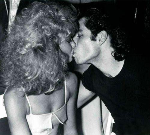 Olivia Newton-John and John Travolta at Studio 54, 1978 .