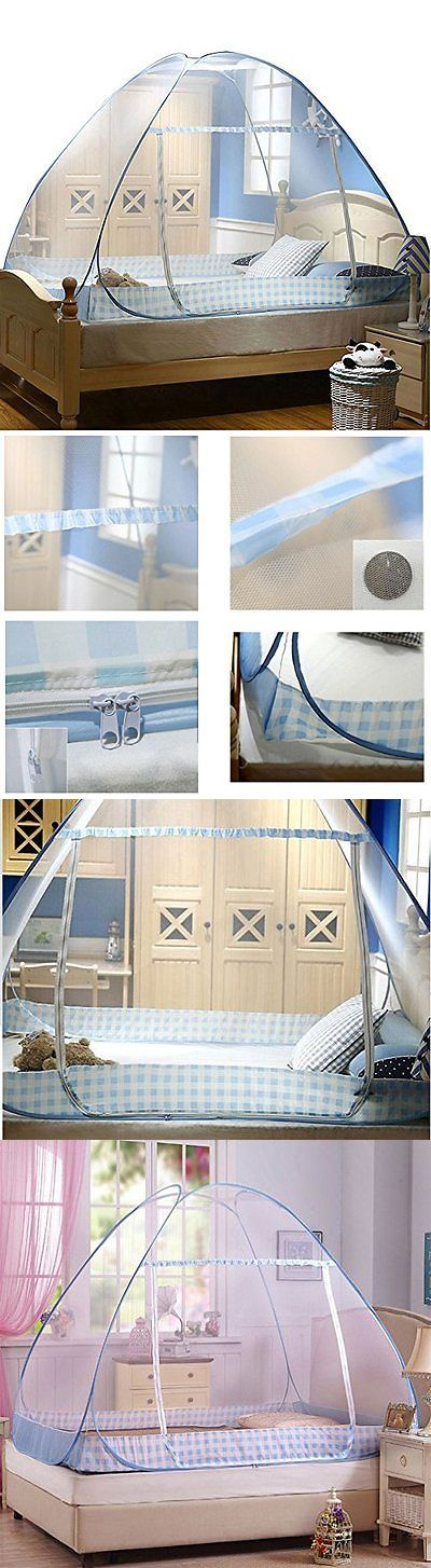 Canopies and Netting 180905: Folding Mosquito Net Tent Canopy Curtains For Beds Home Bedroom Decor 1.2X2.0M B -> BUY IT NOW ONLY: $42.5 on eBay!