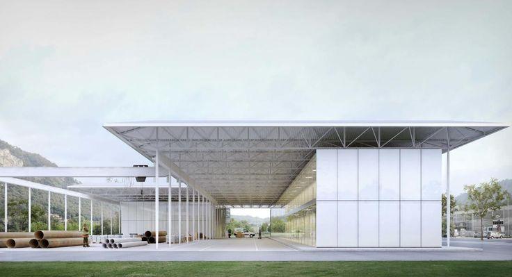 1. rango / 1. premio «Passaggi» (Visualizzazione: Durisch + Nolli Architetti)
