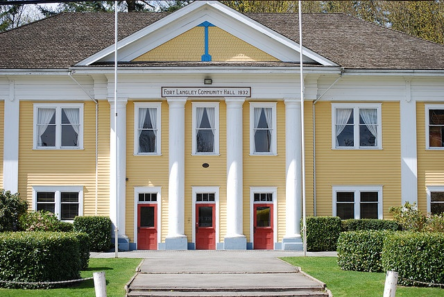 Fort Langley Community Hall - seen in tons of tv shows and movies!