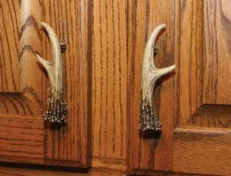 Antler Handles, 3 in. Drawer or Cabinet 2 pk. Great for updating your cabin kitchen cabinets!