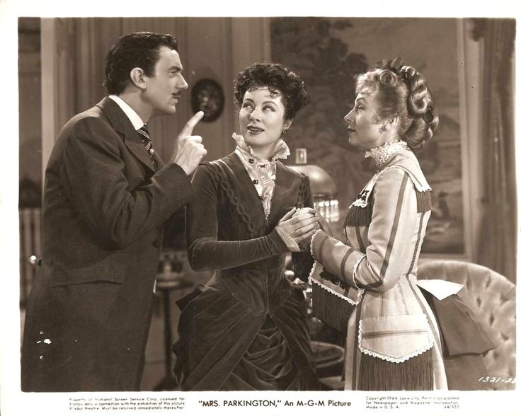 Greer Garson & Walter Pidgeon, they did 8 movies together. Description from pinterest.com. I searched for this on bing.com/images