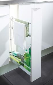 pull out towel rail unit interior from pws kastrbp150c