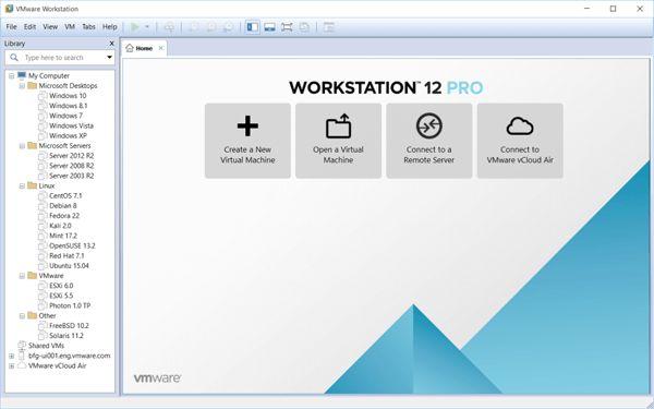 VMware Workstation Player 12.5.2 Crack & Serial Key Download
