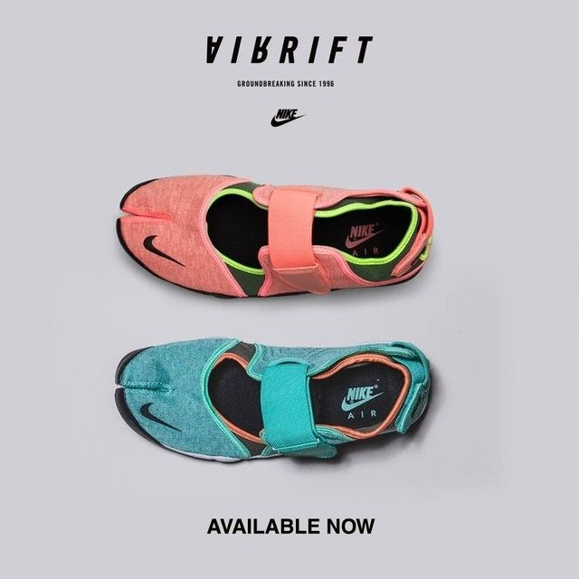 Groundbreaking since 1996 the Nike Air Rift Trainer