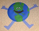 Good Earth day craft For more Earth day craft and other freebies see; http://pinterest.com/cleverclassroom/earth-day-craft-and-freebies/