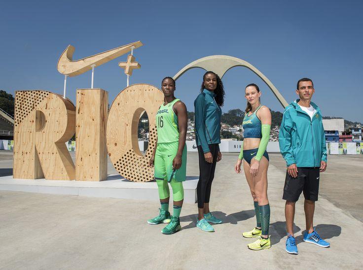 Nike apresenta novidades para atletas brasileiros dos Jogos Olímpicos Rio 2016…