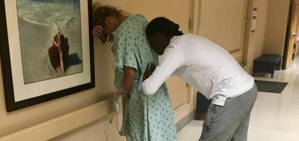 Free agent quarterback Robert Griffin III became a father Sunday after fiancé Grete Sadeiko gave birth to a baby girl.