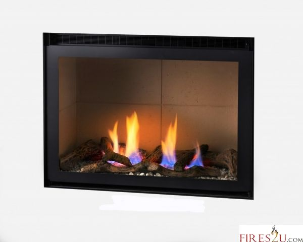 CRYSTAL CONNELLY TULSA TRIM-LESS HE HOLE IN THE WALL GAS FIRE - GAS FIRES