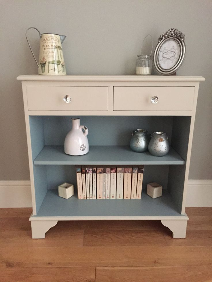 Small bookcase with drawers by BaskervilleRoss on Etsy