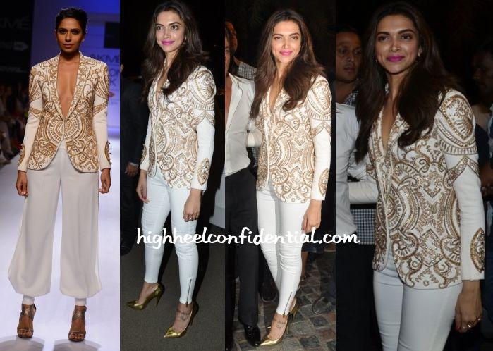 Deepika Padukone Sonaakshi Raaj Abp Mazha Party Bollywood Pinterest Coats Originals And