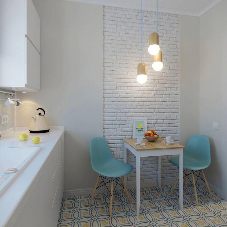 Cocinas de estilo escandinavo de Ekaterina Donde Design