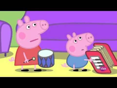 Peppa Pig Instrumentos musicales https://www.youtube.com/watch?v=yRlI-hKRiRM