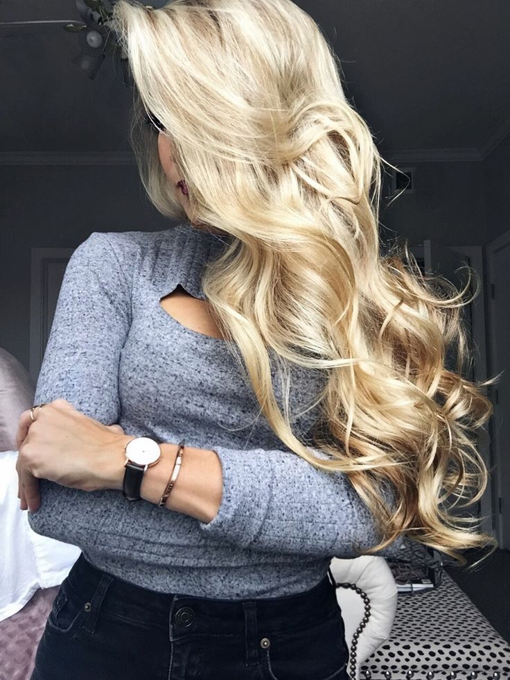 Long blonde hair color, growth, and shine tips on OliviaRink.com