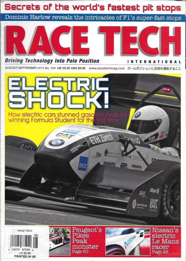 Race Tech International Magazine Electric Cars Nissan Le Mans Fastest Pit Stops