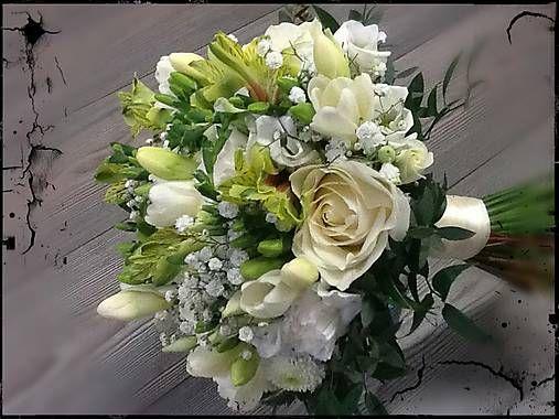 florista / Svadobná kytica BIANCO