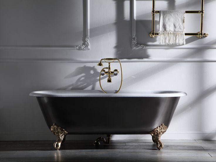 Le 25 migliori idee su Vasca Da Bagno In Ghisa su Pinterest  Vasche, Camere da letto padronali ...
