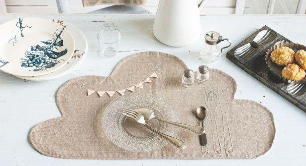 Les 106 meilleures images propos de recycler pour ma for Set de table brode
