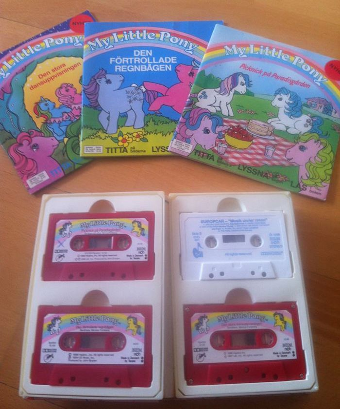 My Little Pony tapes