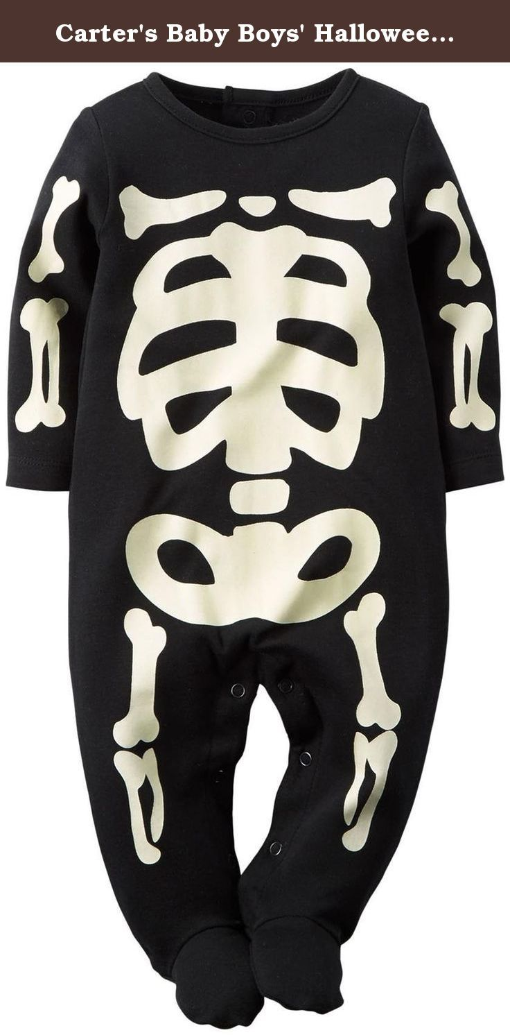 Carter's Baby Boys' Halloween Bodysuit (Baby) - Skeleton - 3 Months. Carter's Halloween Bodysuit (Baby) - Skeleton Carter's is the leading brand of children's clothing, gifts and accessories in America, selling more than 10 products for every child born in the U.S. Their designs are based on a heritage of quality and innovation that has earned them the trust of generations of families.