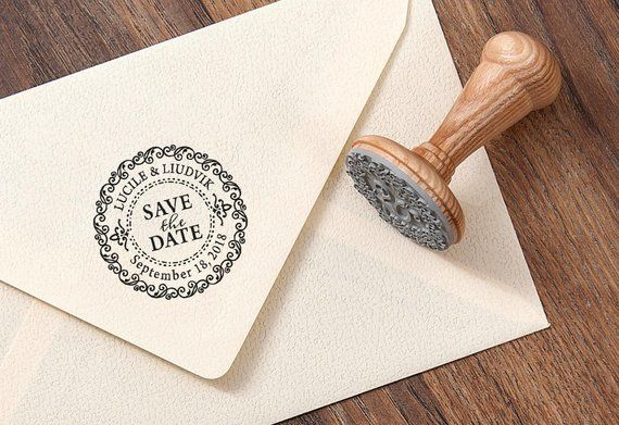 save the date stamp wedding date stamp wedding invitation stamp