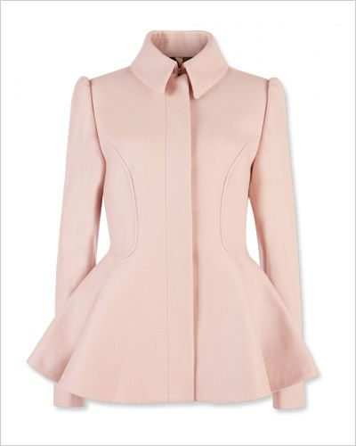 Very pretty pink Ted Baker London short coat.